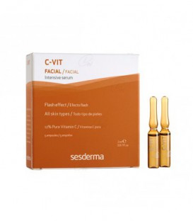 C-VIT INTENSIVE SERUM - EFECTO FLASH 5 U 2 ML