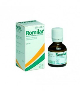 ROMILAR 15 mg/ml GOTAS ORALES EN SOLUCION, 1 frasco de 20 ml