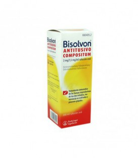 BISOLVON ANTITUSIVO COMPOSITUM 3 mg/ml + 1,5 mg/ml SOLUCION ORAL, 1 frasco de 200 ml