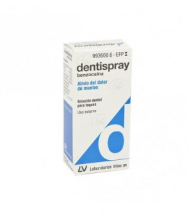 DENTISPRAY 50 mg/ml SOLUCION DENTAL, 1 frasco de 5 ml